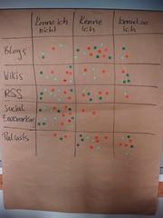 Übersicht über die Vorkenntnisse der Workshopteilnehmer