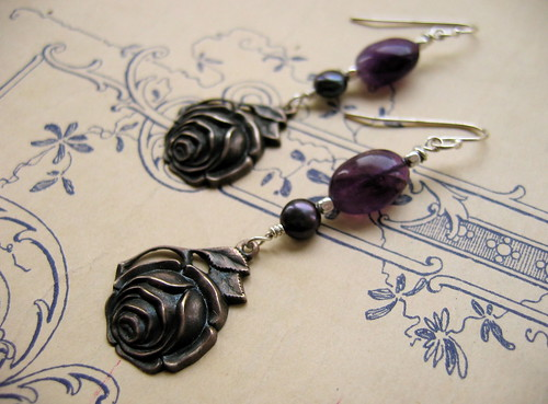 Sleeping Beauty earrings
