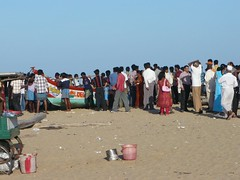 P20659 - Marina Beach, Chennai (philbeth) Tags: ocean sea beach marina madras cricket marinabeach chennai tamil tamilnadu nadi bayofbengal