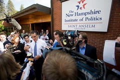 Media Interviews With Gov. Mitt Romney Outside the NHIOP