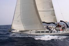 Hispaanias purjetamas