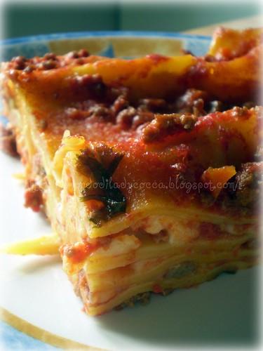 Pasta al forno- Lasagna- Ragù