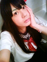SchoolGirl Cosplay #6 (Sweetflower Yui) Tags: japan asian japanese tv cd tgirl transvestite schoolgirl crossdresser ladyboy