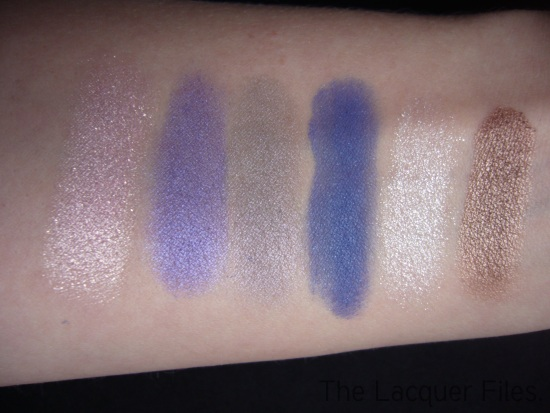 Catrice - Mono Eyeshadow Swatches New Collection November 2010