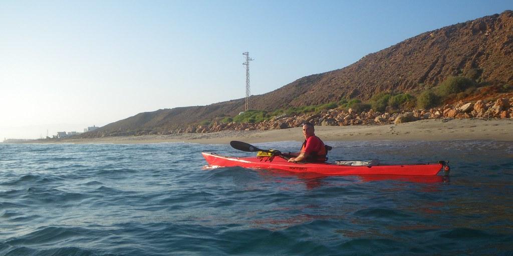 Cabo de Gata en kayak 530