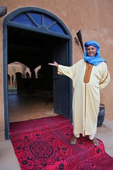 Hotel owner, Addi, welcomes you to Riad Nomad