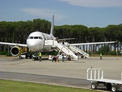 Avión en Jerez