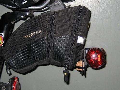 Rear light in place