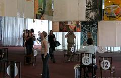 documenta 12 | Alice Creischer / Mach doch heute Lobby | 1998-2007 | Aue-Pavillon