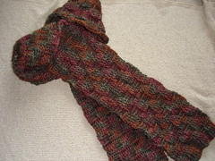Basketweave Scarf 09