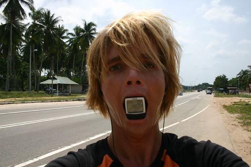 18.000 km. North of Kuantan, Eastern Malaysia.
