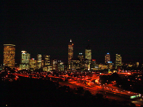Perth city from King's Park