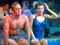 Van Johnson, Esther Williams TV Shot (Walker Dukes) Tags: color film beauty television tv screenshot glamour nikon hollywood actress movies filmstill filmstills actor diva tcm moviestills moviestill tvshot turnerclassicmovies lucilleball moviestars tvshots colorfilm estherwilliams oldmovies picturesofthetelevision vanjohnson televisionshot flickrglam colormovies colorfilms coolpixl12 kenanwynn easytowed