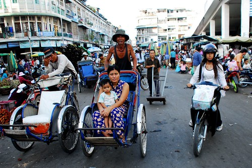 Cyclos of Phnom Penh