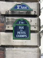 Rue des Petits champs