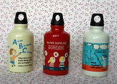 8.16.07 - Shinzi Katoh Water Bottles