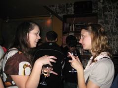 Amy and Jasmine in the Lincoln (hugandkiss) Tags: npg