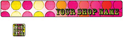 Circus Circus Premade Etsy Shop Banner & Avatar