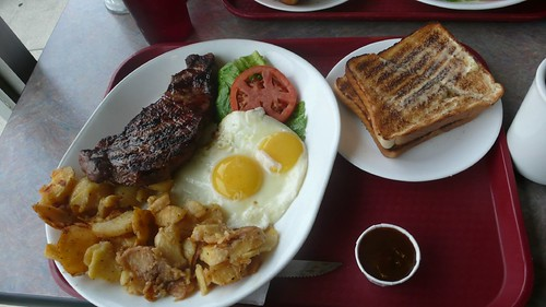 Photo review by ciacia HER:  Steak & Eggs