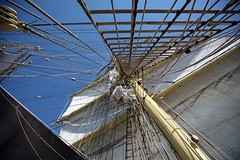 Sail Geometry (Bruno Girin) Tags: race sails baltic mast tallships rigging srlandet tallshipsracesbaltic2007