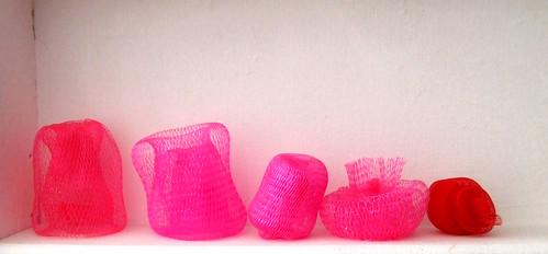 mesh sculptures