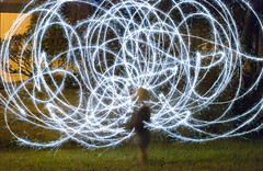 Sparkler Art