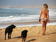 Life is a Beach (dfensedafficher) Tags: girl hossegor skimboard lo2 skimfest lo