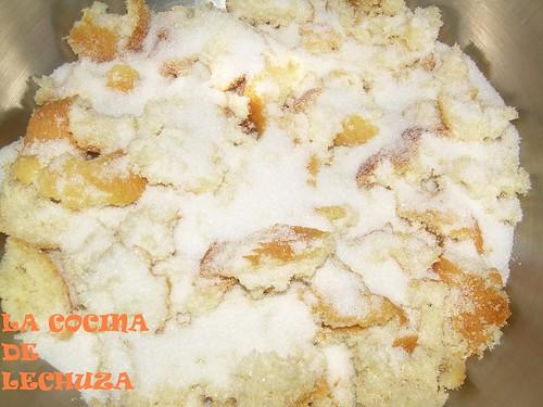 Budín mezcla azucar