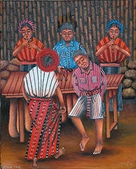 Tzutinil Maya with Marimba