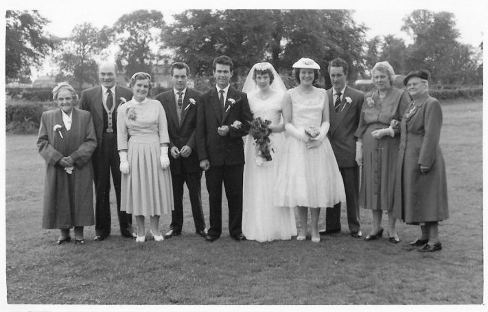 1956: my parents' wedding