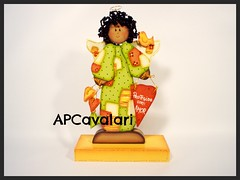 anjinho (AP.CAVALARI / ANA PAULA) Tags: baby dolls arte handmade artesanato fabric bebe patchwork cor desenho quadros tecido anapaula cavalari anapaulacavalari apcavalari