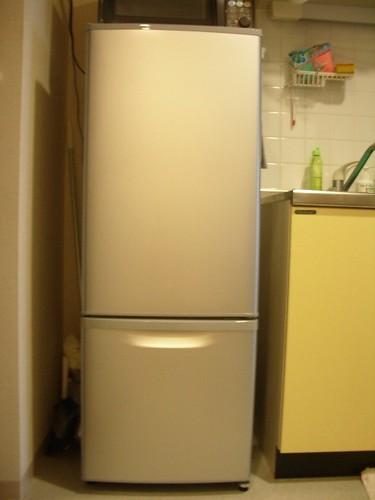 Panasonic slim refrigerator