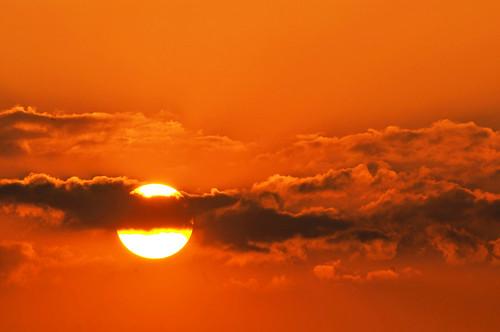 フリー写真素材, 自然・風景, 空, 雲, 夕日・夕焼け・日没, オレンジ色, スイス,