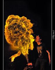 Double Spitfire [Explored] (iPh4n70M) Tags: paris france hot macro french fire photography tokyo photo nikon flickr raw photographer photographie spit palace noflash burn photograph single tc nikkor bp flamme chaud hdr feu flam palaisdetokyo eater photographe 105mm brûler balades parisiennes fireeaters cracheur fireater d700 tcphotography baladesparisiennes ph4n70m iph4n70m tcphotographie
