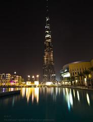 some one living right on top! (Sai Achanta) Tags: longexposure dubai nightshot 7d 1022mm worldstallestbuilding burjkhalifa