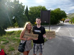 Montenegro hitchhikers