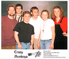 CrazyMonkeys - Headshot - 1998