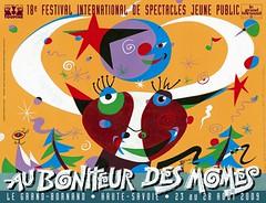 Affiche Festival Au Bonheur des Momes-2009