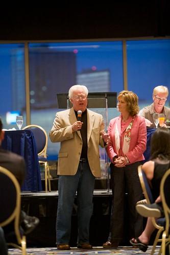 Ed & Cheryl at Leadership Meeting