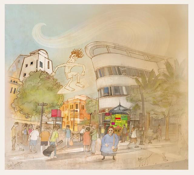 Hamsin in Tel-Aviv
