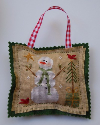 "Little House Needleworks ""Frosty Flakes"" Ornament"