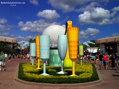EPCOT Food and Wine Display