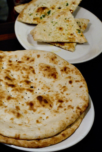 Naan and garlic naan 2