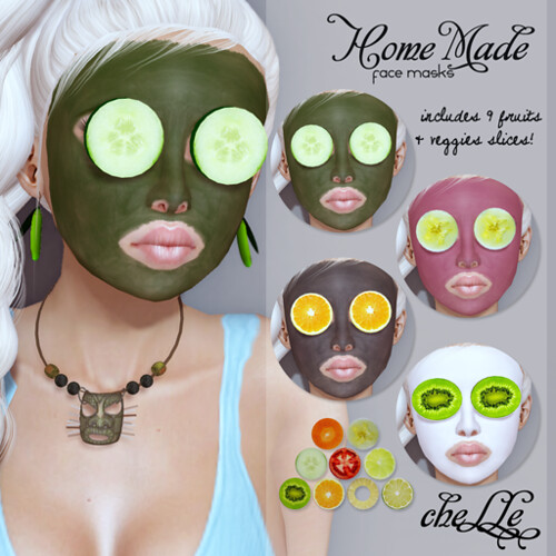 cheLLe (face mask) Home Made