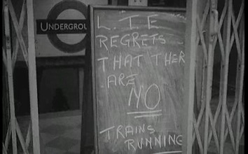 Tube Strike in 1962 - click to play film