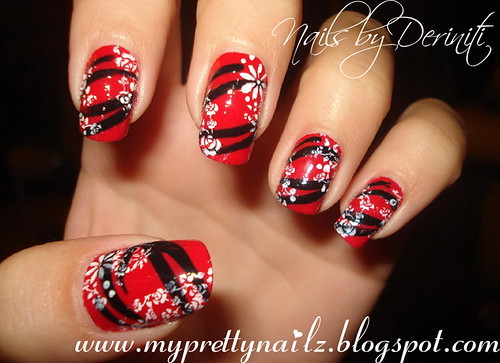 Color It Red - Deriniti Nailz