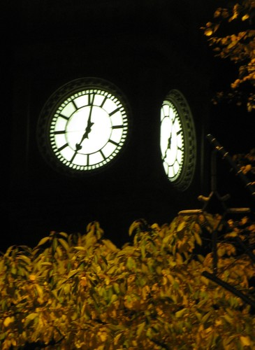 Belfast Albert Clock at night