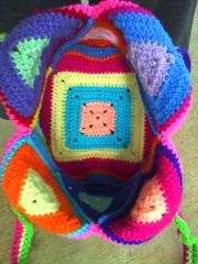 crochet tote bag (crochetbug13) Tags: bagcrochet acrylic tote crochet crocheting crocheted grannysquare grannysquares crochetsquare crochetsquares crochettote crochetbag crochetpurse yarn