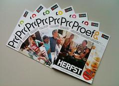 maandelijks magazine Proef& voor Gall&Gall (in vorm) Tags: magazine proef gallgall invorm maandelijks dn30