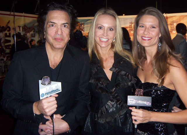 Paul Stanley ,Lead Singer of KISS, Erin Sutton, Tara Darby, Freedom Choice Awards 2010